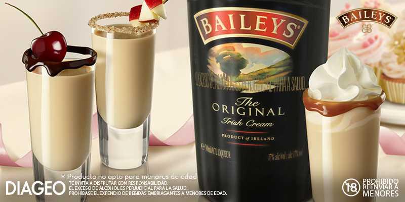Bebidas con Baileys